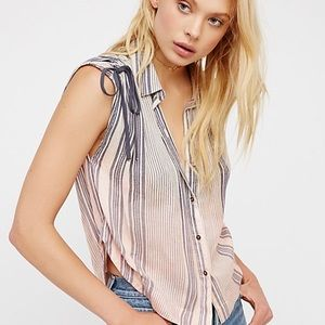 Free People Baby Blues striped top